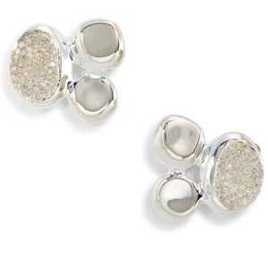 Ippolita Onada  Pave Diamond Cluster Earrings